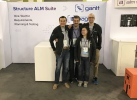 ALM Works Atlassian Summit Team - long before