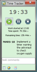 Time Tracker Screenshot