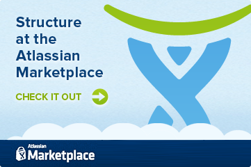 Structure at the Atlassian Marketplace